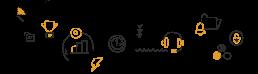 Mobile - Waarom vraag je Kuraga - Lijnillustraties ILUZIE - transparant